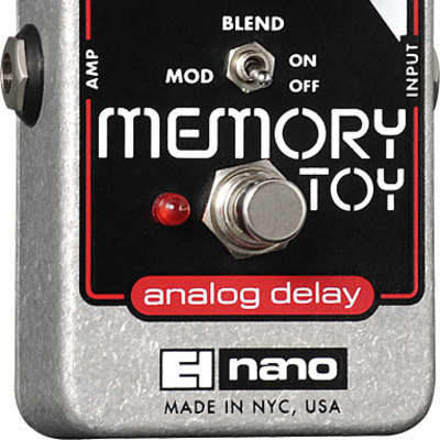 Electro Harmonix Memory Toy Nano Memory Toy Analog Echo/Chorus for sale