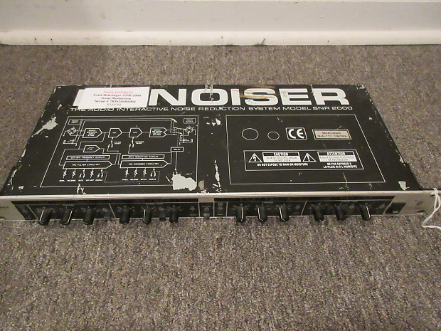 used behringer snr2000 denoiser noise reduction system reverb. Black Bedroom Furniture Sets. Home Design Ideas