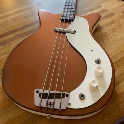 Danelectro 3412 Shorthorn Electric Bass Copper 1964 Copper for sale