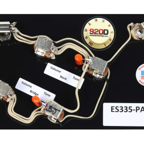 gibson es-335 wiring harness switchcraft bournes acme orange drop jimmy page