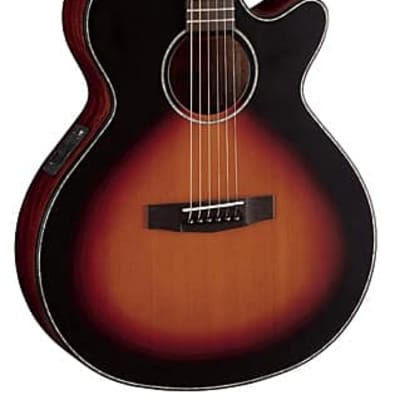 Cort SFX Series SFX-E Acoustic/Electric Guitar, 3 Tone Satin Sunburst, Free Shipping