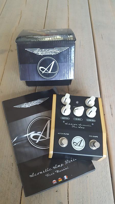 ashdown aa woodsman acoustic guitar preamp di pedal reverb. Black Bedroom Furniture Sets. Home Design Ideas