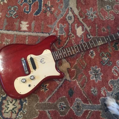 Epiphone  Olympic 1965 cherry red bat wing for sale