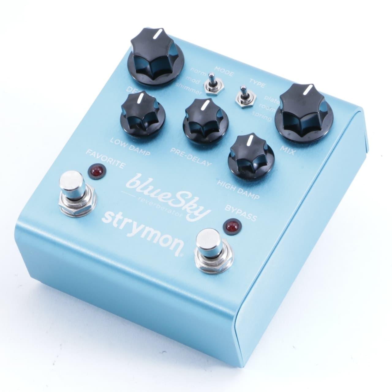 strymon blue sky reverb guitar effects pedal p 05067 reverb. Black Bedroom Furniture Sets. Home Design Ideas