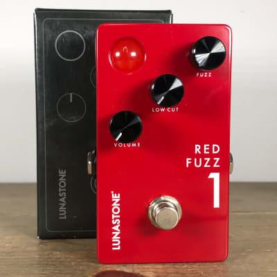 Lunastone Red Fuzz 1 Red
