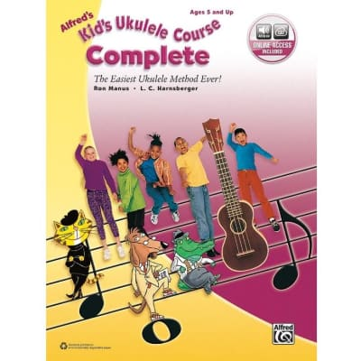 Alfred's Kid's Ukulele Course Complete - The Easiest Ukulele Method Ever! (w/ CD)