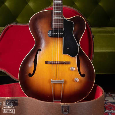One owner Guild Savoy X-150 Sunburst 1954