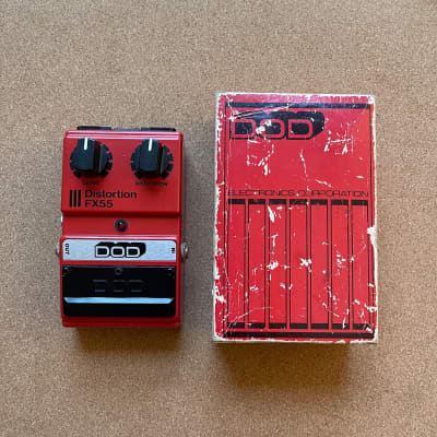 DOD Distortion FX55 (Made in USA)