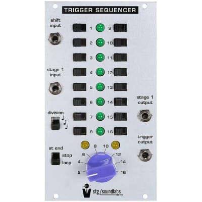 STG Soundlabs Trigger Sequencer 16-Stage Trigger Sequencer