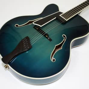 Buscarino Blue Monarch 18 2010 Custom Built, with Original Case Lefty Left Handed for sale