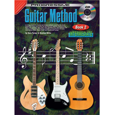 Progressive Guitar Method - Book 2: Intermediate (w/ CD)