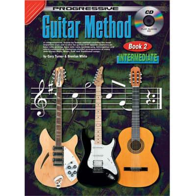 Progressive Guitar Method - Book 2: Intermediate (w/ CD)