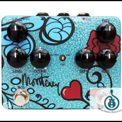 Keeley Monterey Rotary Fuzz Vibe Effects Pedal