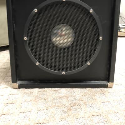 JBL D120F speaker cabinet 1970's black for sale