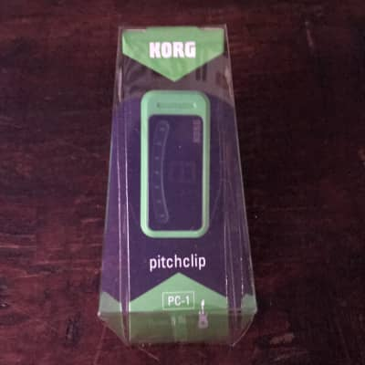 Korg Pitchclip Green Clip on Tuner