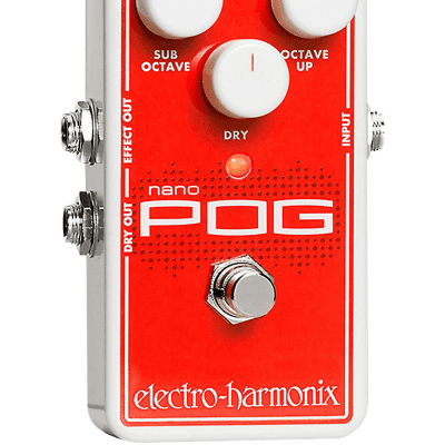 Electro Harmonix Micro Pog Polyphonic Generator Guitar Effects Pedal for sale