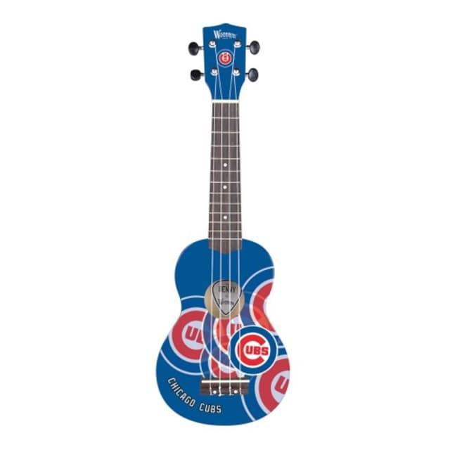 Woodrow Chicago Cubs MLB Ukulele 2017 cubbie Blue image