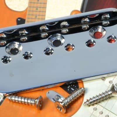 Fender Stratocaster Bridge Plate, Vintage, Non-Tremolo Hardtail Strat 0010322000 NEW!