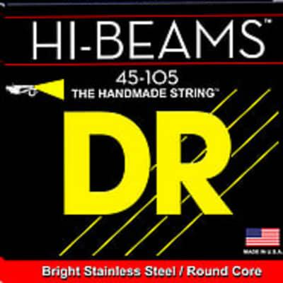 DR SMR-45 Strings HI BEAMS Short Scale 4 String Bass Med, .045- .105