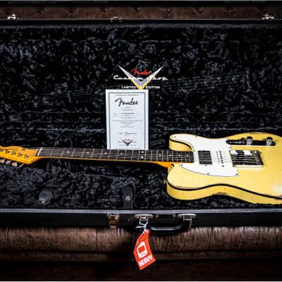 Fender Custom Shop Nashville Tele Custom 60's Heavy Relic Limited Namm 2016