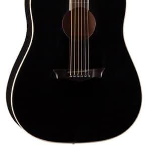 Dean Guitars Axs Series Dreadnought Acoustic Guitar, Mahogany, Classic Black, AX D MAH CBK for sale
