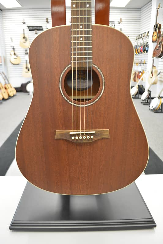 Seagull S6 Mahogany Deluxe Acoustic Guitar