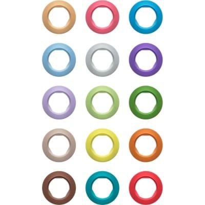 Sennheiser EW-D SK COLOR CODING Set of Color Indicators for EW-D SK Bodypack Transmitters (16-Pack)