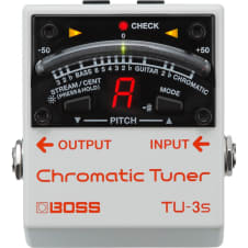 Boss TU-3S Compact Chromatic Instrument Tuner