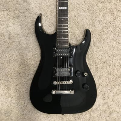 ESP LTD Horizon H-200 1996(?) Black w/Case & Strap Locks for sale