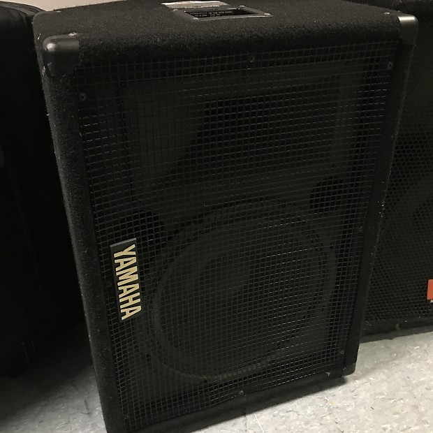 Yamaha s12me stage monitor reverb for Yamaha stage monitors