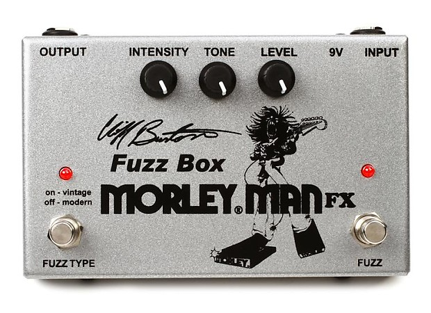 Morley Cliff Burton Fuzz Box Guitar Effects Pedal FREE EXPEDITED SHIPPING