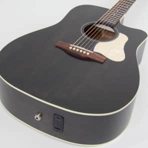 Art & Lutherie Americana CW Dreadnought Acoustic Electric Guitar | Faded Black for sale