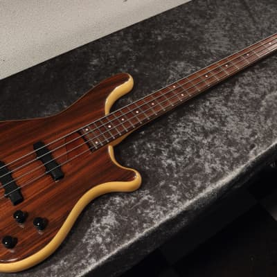 1990 Rockoon Schaller Japan RB-100R -Highest End- Bass Guitar Rosewood Top&Back - RARE for sale
