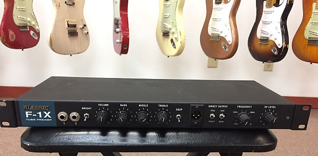 Alembic F1x Bass Preamp Reverb