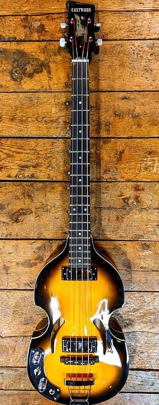 Klira Bass Pickups : eastwood klira beatle bass lh sunburst xyz guitars reverb ~ Vivirlamusica.com Haus und Dekorationen