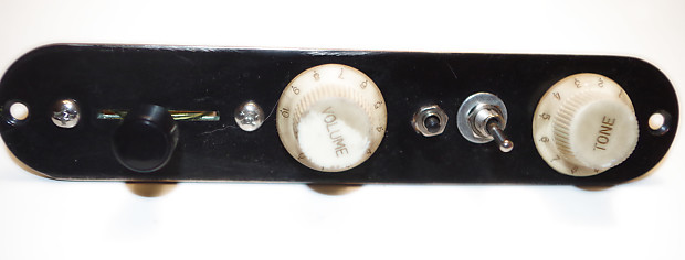 Custom Usa Telecaster Control Plate With Coil Tap Amp Reverb