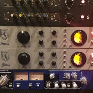 Dizengoff D864 Varimu Tube Compressor Stereo Pair