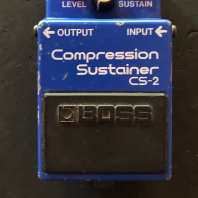 Boss CS-2 Compression Sustainer
