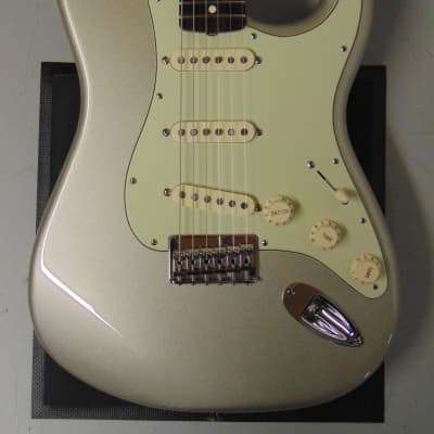 Fender Robert Cray Artist Series Signature Stratocaster 2011 Inca Silver for sale