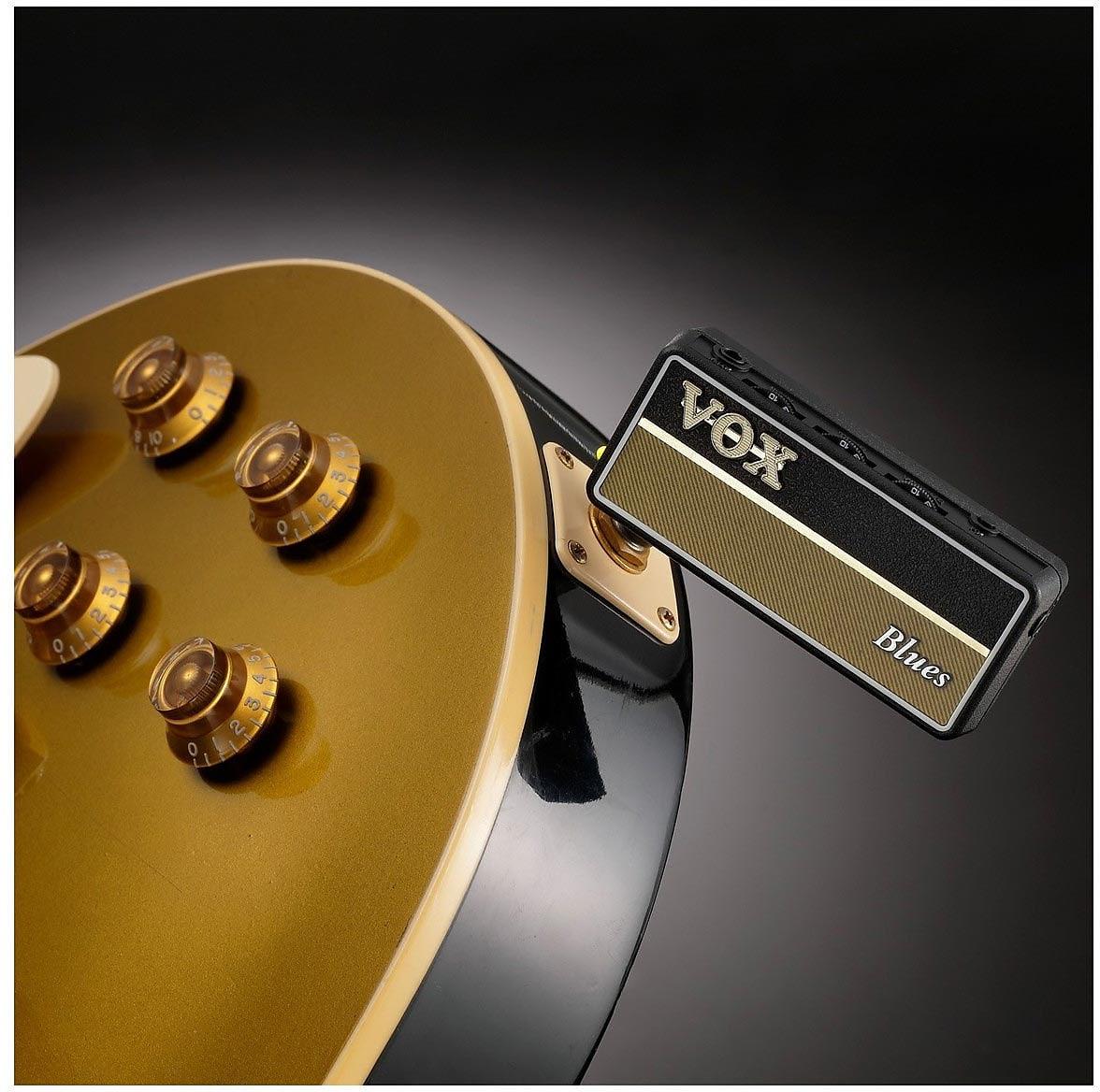 Vox amPlug 2 Blues Battery-Powered Guitar Headphone Amp AP2-BL