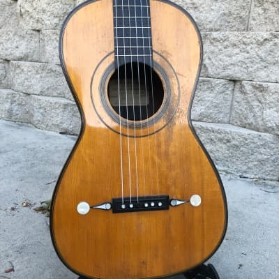 Louis Panormo spanish style parlor guitar  1837 for sale