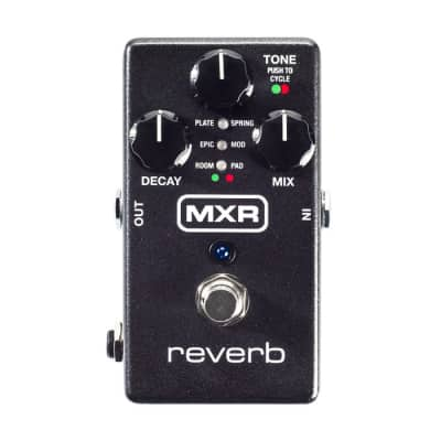 Used MXR M300 Reverb Guitar Effects Pedal w/ Power Supply! image