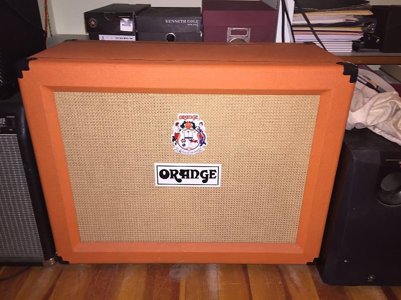 orange ppc212ob 120 watt 2x12 open back guitar speaker reverb. Black Bedroom Furniture Sets. Home Design Ideas
