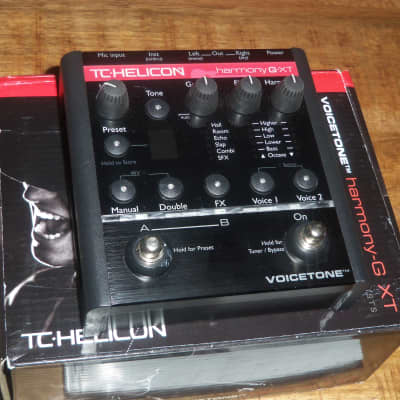 TC Helicon Harmony G XT Vocal Harmony & Effects Pedal