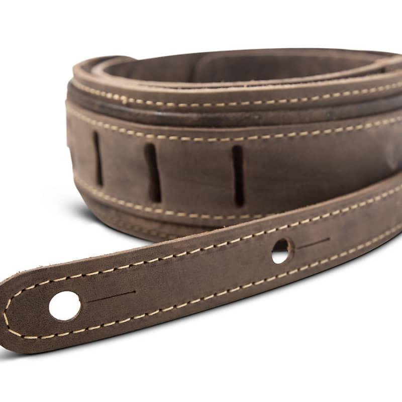 Taylor Element Strap (800 Series), Dark Brown Distressed Leather, 2.5