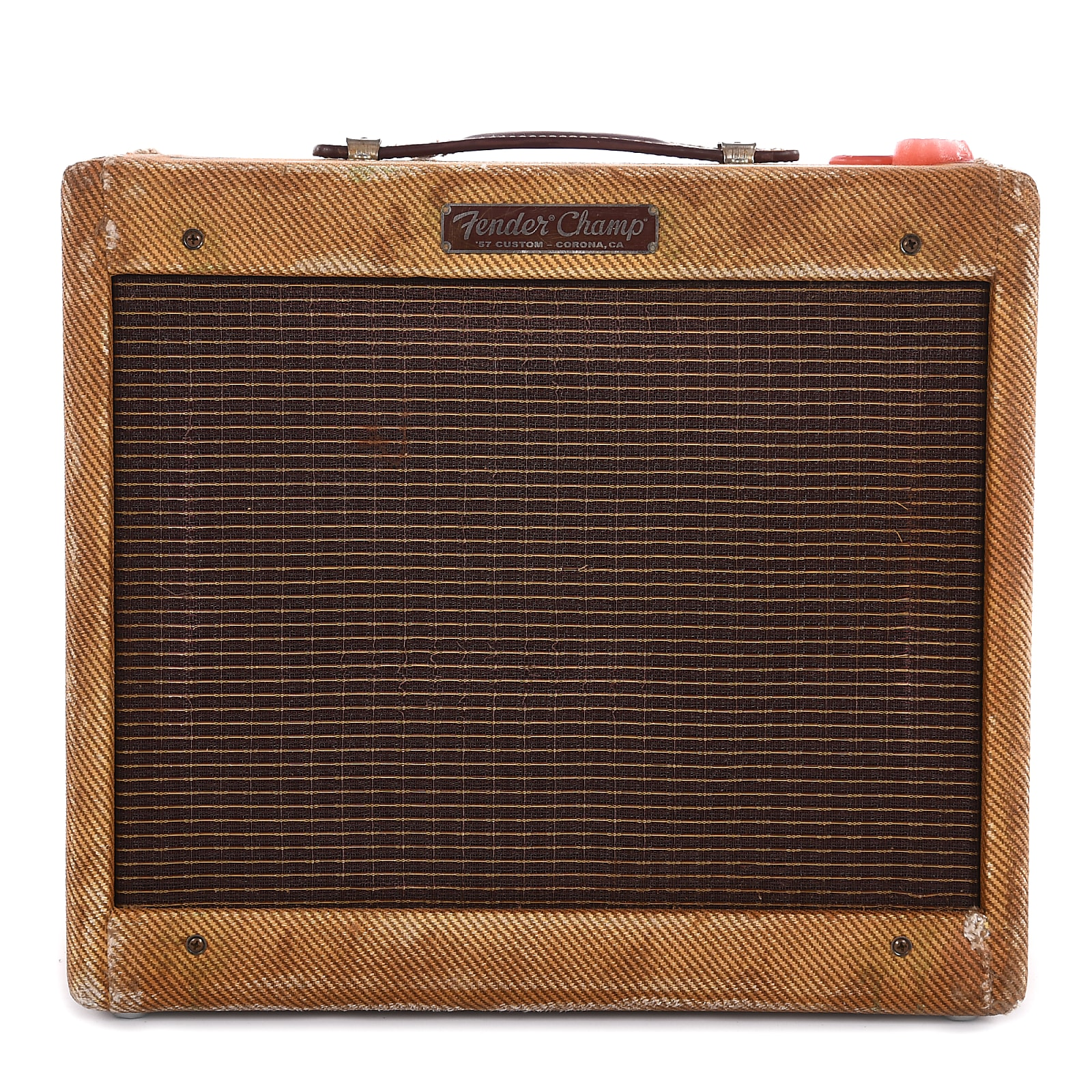 "Fender Custom Shop Master Built 1957 Champ 1x10 Relic Tweed ""Deadhead"" (Serial #AB040233)"