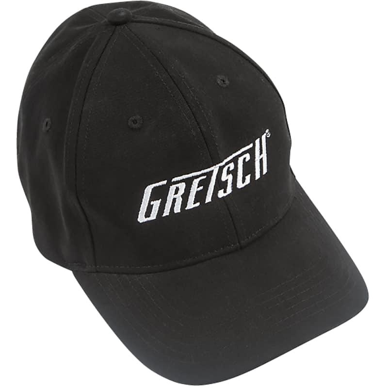 9ee73898 Gretsch Guitars Flexfit Hat, Black, L/XL, Large / Extra Large