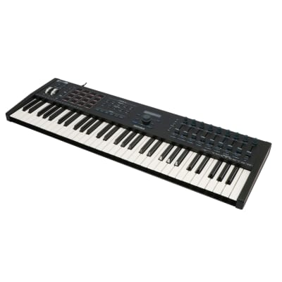 Arturia Keylab 61 MKII MIDI/USB Keyboard, Black