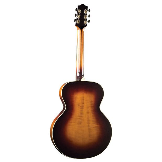 the loar deluxe all solid archtop guitar w hardcase reverb. Black Bedroom Furniture Sets. Home Design Ideas