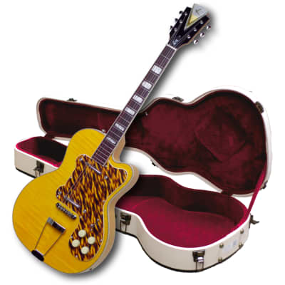 """Kay Reissue Collector's Jimmy Reed""""Thin Twin"""" Electric-FREE $60 Shipping & $250 Case  K161VB Blonde"""